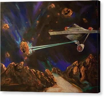 Trek Adventure Canvas Print by Peter Suhocke