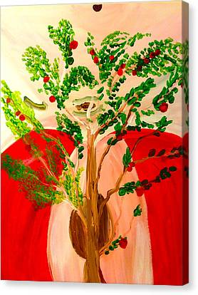 Tree Of Apples Canvas Print by Pretchill Smith
