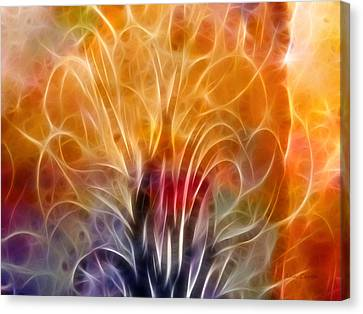 Tree Of Life Canvas Print by Ann Croon