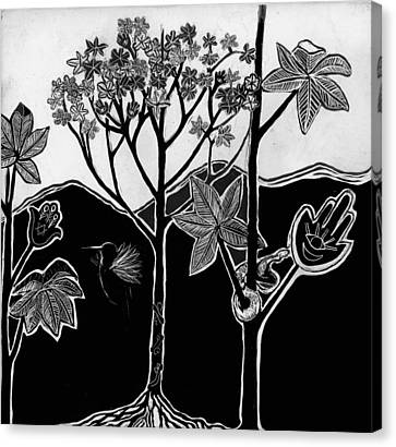 Tree Of Life Canvas Print by Aurora Levins Morales