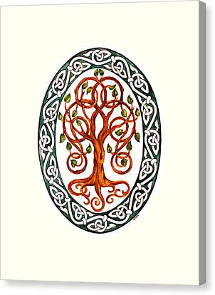 Tree Of Life Canvas Print by Ellen Starr