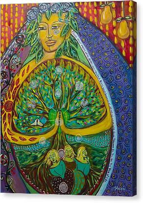 Tree Of Life Canvas Print by Havi Mandell