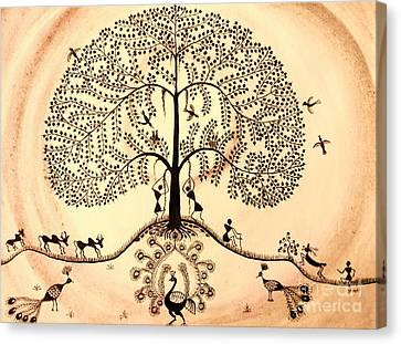 Tree Of Life II Canvas Print by Anjali Vaidya