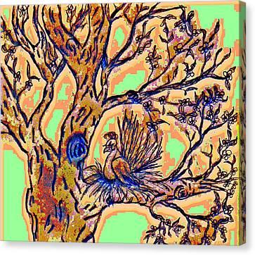Tree Of Life Canvas Print by Rebecca Flaig