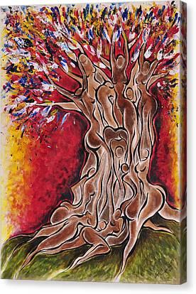 Tree Of Life Canvas Print by Sherrell Cisco
