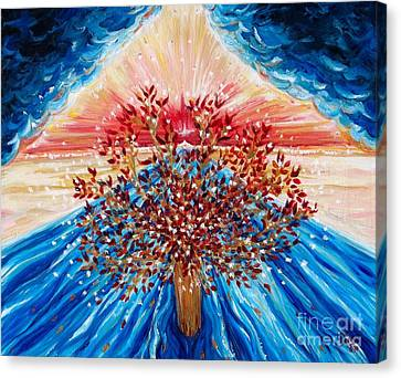 Tree Of Life Canvas Print by Suzanne King