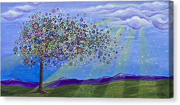 Tree Of Life Canvas Print by Tanielle Childers