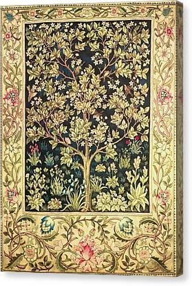 Tree Of Life Canvas Print by William Morris