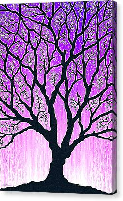 Canvas Print featuring the digital art Tree Of Light 2 by Cristophers Dream Artistry