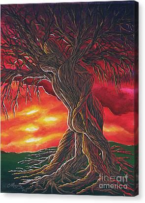 Tree Of Love Canvas Print