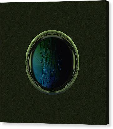 Tree Porthole  Canvas Print