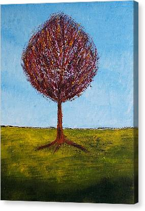 Tree Solo Canvas Print