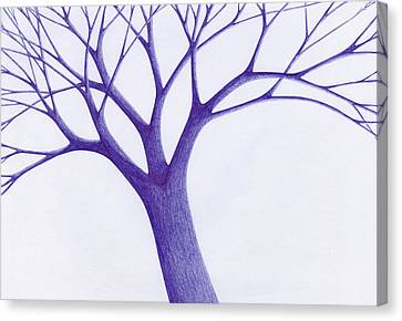 Tree - The Great Hand Of Nature Canvas Print by Giuseppe Epifani