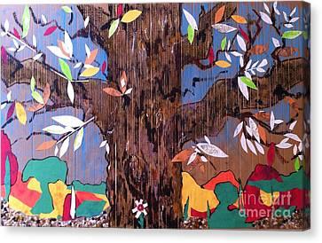 Tree Treat Canvas Print