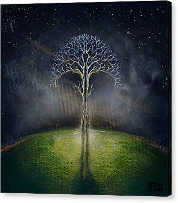 Treelogy II Canvas Print by Vincent Carrozza