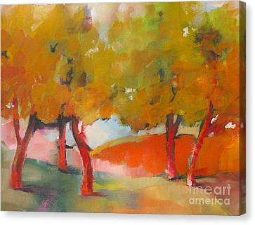 Trees #5 Canvas Print by Michelle Abrams