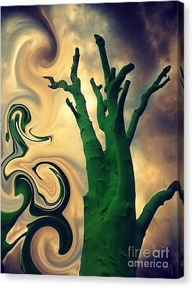 Treeswirl Canvas Print by Susan Townsend