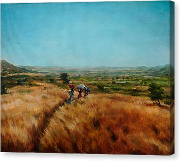 Trek Canvas Print by Sourav Bose