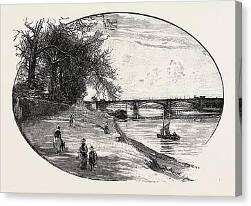 Trent Bridge, Nottingham Canvas Print