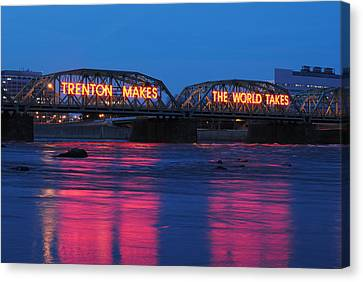 Trenton Makes Canvas Print