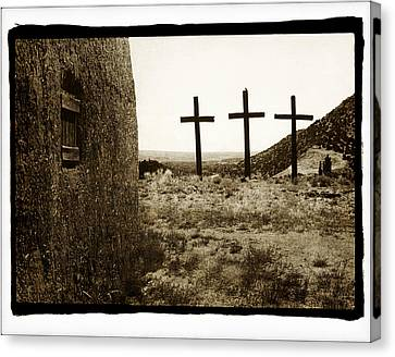 Tres Cruces New Mexico Canvas Print