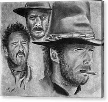 Tres Hombres Canvas Print