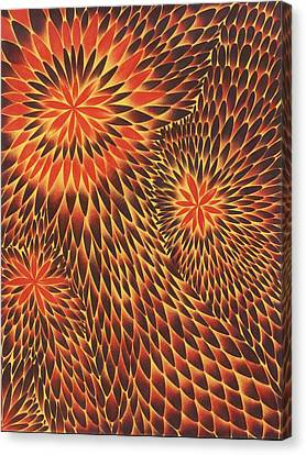 Tres Canvas Print by Zachary Worth