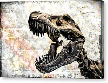 Trex Canvas Print by Bill Cannon