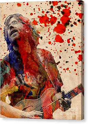 Trey Anastasio - Phish  Canvas Print by Ryan Rock Artist