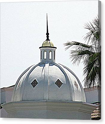 Triad Dome Canvas Print