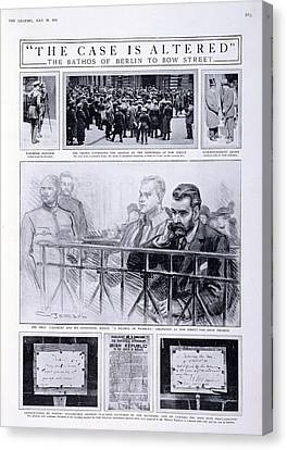 Trial Of Sir Roger Casement Canvas Print by British Library