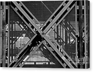 Canvas Print featuring the photograph Triangle by Maja Sokolowska