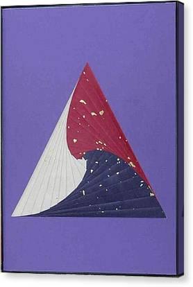 Artisan Canvas Print - Triangle by Ron Davidson