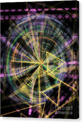 Triangles 1 Canvas Print by Jose Benavides