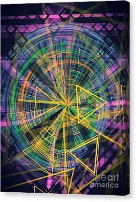Triangles 3 Canvas Print by Jose Benavides
