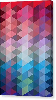 Triangles Canvas Print by Mark Ashkenazi