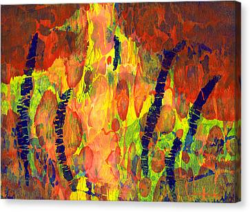 Tribal Essence Canvas Print
