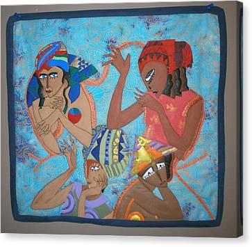 Tribal Canvas Print by Linda Egland