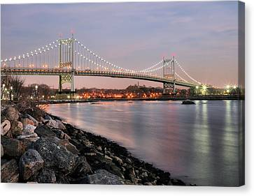 Triboro Nights Canvas Print by JC Findley