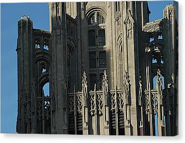 Tribune Tower Canvas Print by Joseph Yarbrough