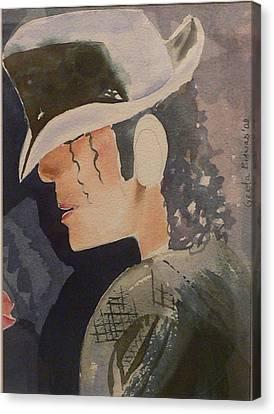 Tribute Canvas Print by Geeta Biswas