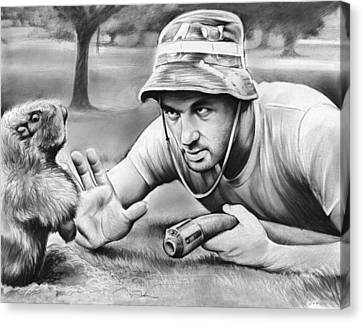 Tribute To Caddyshack Canvas Print by Greg Joens