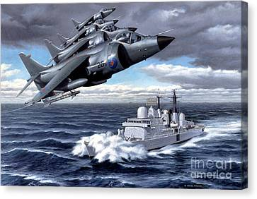 Tribute To Valour Canvas Print by Michael Swanson