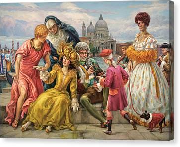 Tribute To Veronese Canvas Print