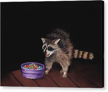 Trick-or-treat Canvas Print by Anastasiya Malakhova