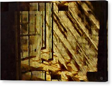 Tricky Window Canvas Print by Gun Legler