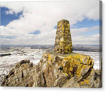 Trig Point Canvas Print by Ashley Cooper