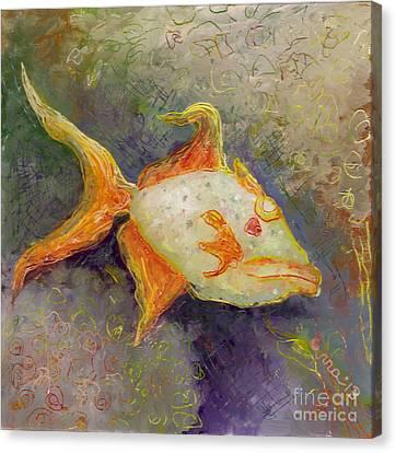 Triggerfish Canvas Print by Anna Skaradzinska