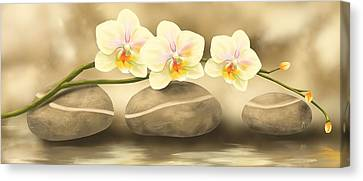 Trilogy Canvas Print by Veronica Minozzi