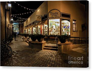 Fort Collins Canvas Print - Trimble Court by Jon Burch Photography